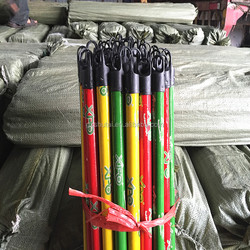 150cm PVC coated wooden broom stick with high quality