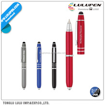Ballpoint Pen Stylus With LED Light (Lu-Q07865)