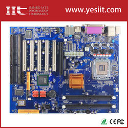 passive industrial backplane IMI945GV-2ISA wtih two ISA slot motherboarduse 945gv support LGA775 CPU computer chassis 4u