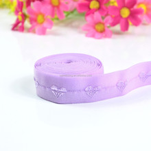 factory price jacquard wrapping elastic for bra