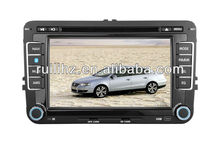 7 inch 2 din VW Golf 6 DVD Gps with 3G