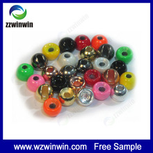 Superior performance tungsten beads for fly fishing