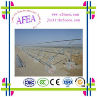 2015 export solar panel, Largest Rooftop Commercial Solar Power Project,Roof installation solar panel system mounting brackets