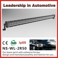 Best selling high intensity 50 inch 300W Cree off road vehicle led light bar for sale