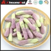 Halal Sour Worm Gummy Candy in bulk