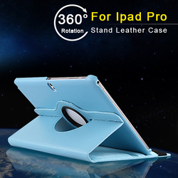 Germany Market PU Lychee Leather Blue for men unbreakable protective case for iPad Pro 12.9
