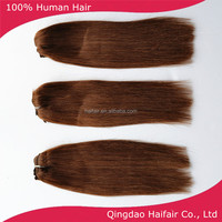 Easy attach clips on hair extension color 4 14inch to 22inch in stock fast delviery