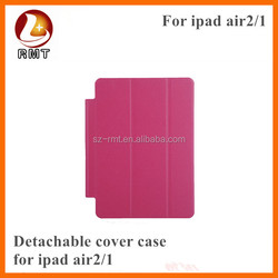 new products 2015 smart cover Leather Case for iPad 5 iPad Air Case