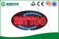 High quality full color Hidly new design LED TATTOO Sign (HST0075)