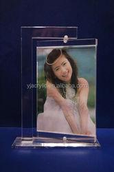 customized clear acrylic photofunia photo frame