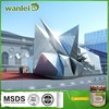Factory prices,High hardness and flexible, Bright silver exterior wall paint