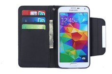 Multi-function lanyard case for S5, pu leather case for S5 with credit card slot and stand.