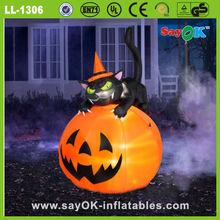halloween inflatables halloween pumpkin light decorations