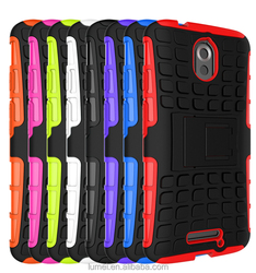 Rugged Dual Shockproof Heavy Duty Case Cover & Stand For Motorola Moto X Play