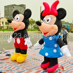 2016 new design Mickey Mouse Inflatable Walking Costumes, Advertising Commercial Inflatable costumes walking Mascot