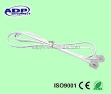 4cores rj11 telephone cable/rj11 telephone wire/cat3 rj11 4 wire telephone cable for sale