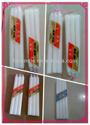 house hold white pillar candle wax