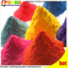 Free Samples Exterior Thermosetting Polyester TGIC Powder Coating