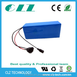 Factory price 48v 12ah lithium ion battery pack for ebike / scooter / bicycle / tricycle / rickshaw / motorcycle