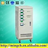 CE ROHS approved 9KVA three phase servo motor type voltage stabilizer voltage regulator inverter