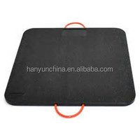 uhmwpe mobile road/ground mat/ground protect crane mats
