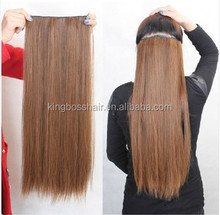 100% remy tangle free long straight indian huamn hair weft machine weft hand tied