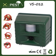 Visson 2015 best selling products china VS-012 X-pest natural ultrasonic dog repeller/bird flu control