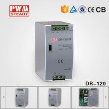15V 8A 120w din rail switching power supply adapter DR-120 by single output