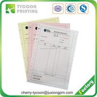 High quality bill book printing factory