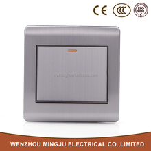 MJ-U1001 1Gang 1Way Electric Wall Switch For Home