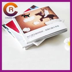 Small MOQ factory price cheap custom information plain paper book