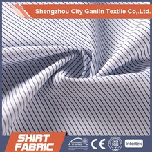 check/stripe yarn dyed tc shirt fabric for shirts