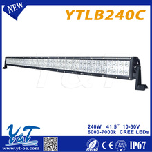 Y&T240w 41.5 inch christmas led lights disposable led lights for offroad ATV 4x4 truck
