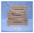 cajón de madera