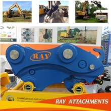 good quality and long life excavator bucket quick couplers for excavator attachments
