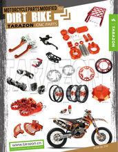 High Class Tarazon CNC Motorcycle Spare Parts for ktm 250 exc