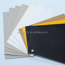 black cardboard/black paper boards for packaging stationery and printing industry