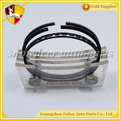 Hot Sell piston ring for Toyota Corolla motorcycle 13011 - 16280 4AFE engine