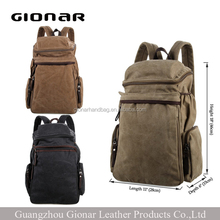 Fashion Handbags Hiking Backpack Canvas Bag Men Leather Handbag Wholesale Men Bag