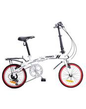 Lightweight 16 Inch Steel Folding Bicycle