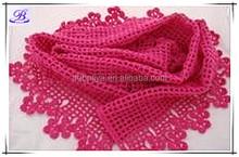 2015 Fashionable handmade crochet scarf