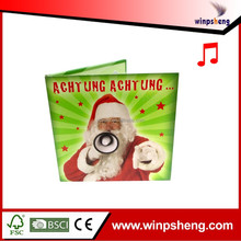 Custom Design Christmas Greeting Card