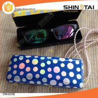 Fancy dots mini reading glasses case for kids