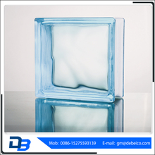Hot sale crushed light green glass block for building decoration
