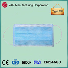 Nurse Doctor Use Surgical Face Mask Medical Equipment Made in China