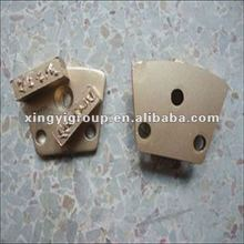 PCD system diamond grinding pad for coating removing