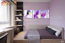 Abstract watercolour painting showpieces for home decoration