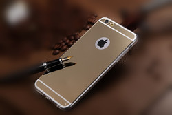 For iphone 6 mirror case Ultra slim plating PC cellphone case