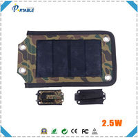 solar panel production line mobile portable 2.5W flexible solar panel 5v
