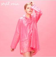 2014 new style young ladies fashion rain coats,sexy pvc rain coat